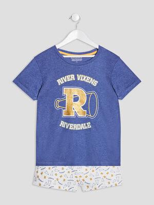 Ensemble pyjama Riverdale bleu fille