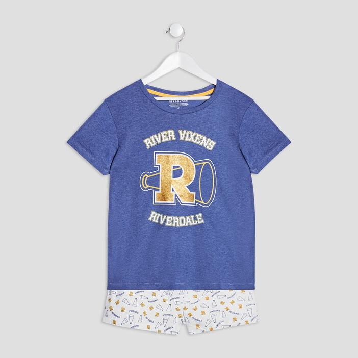 Ensemble pyjama Riverdale fille bleu