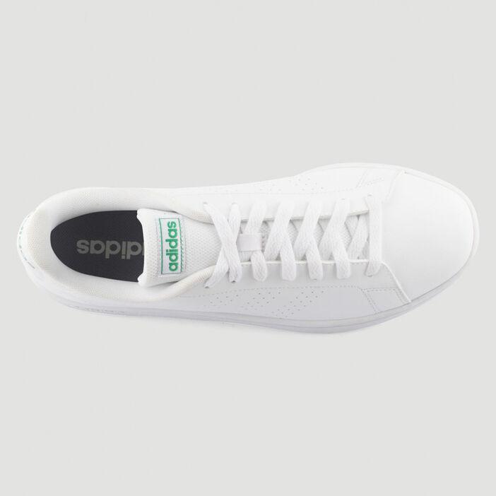 Tennis Adidas ADVANTAGE BASE homme blanc