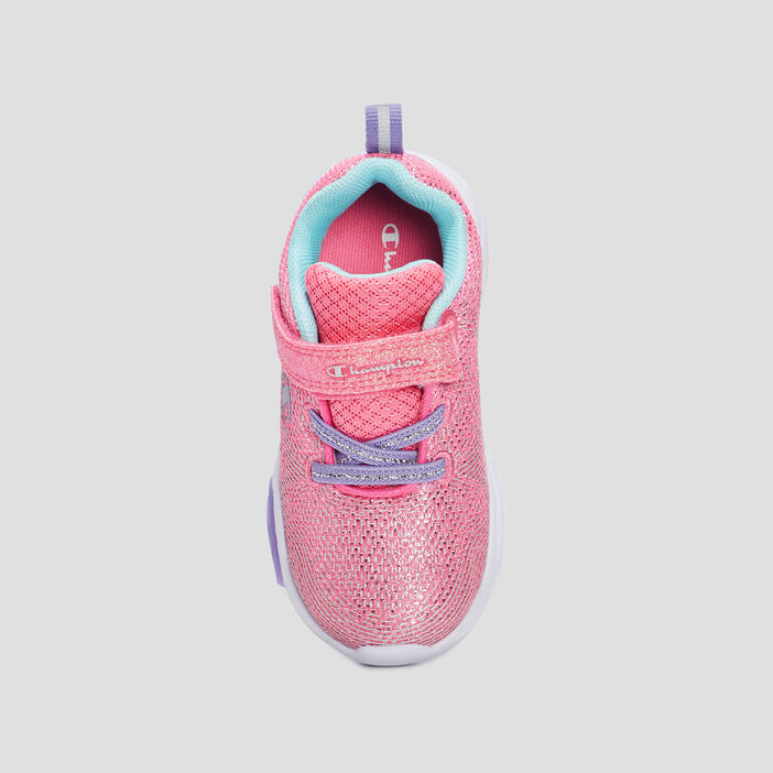 Baskets running Champion fille rose