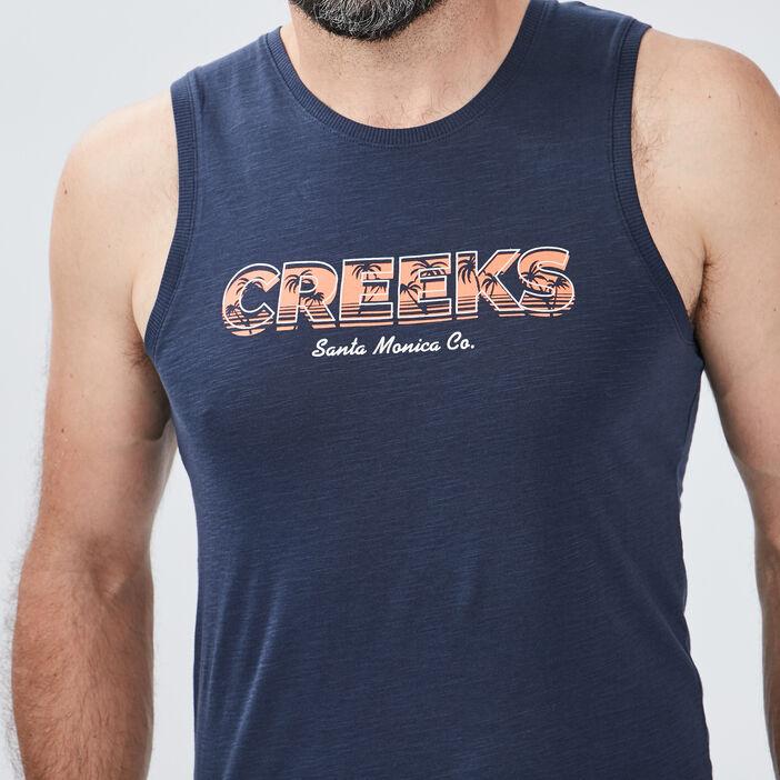 Débardeur Creeks homme bleu marine
