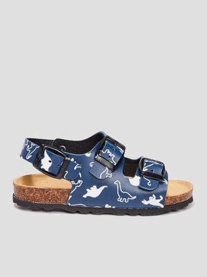 Sandales Trappeur bleu garcon