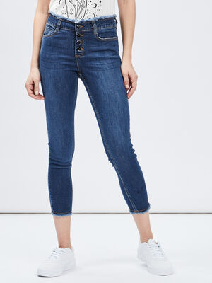 Jeans skinny Mosquitos denim double stone femme