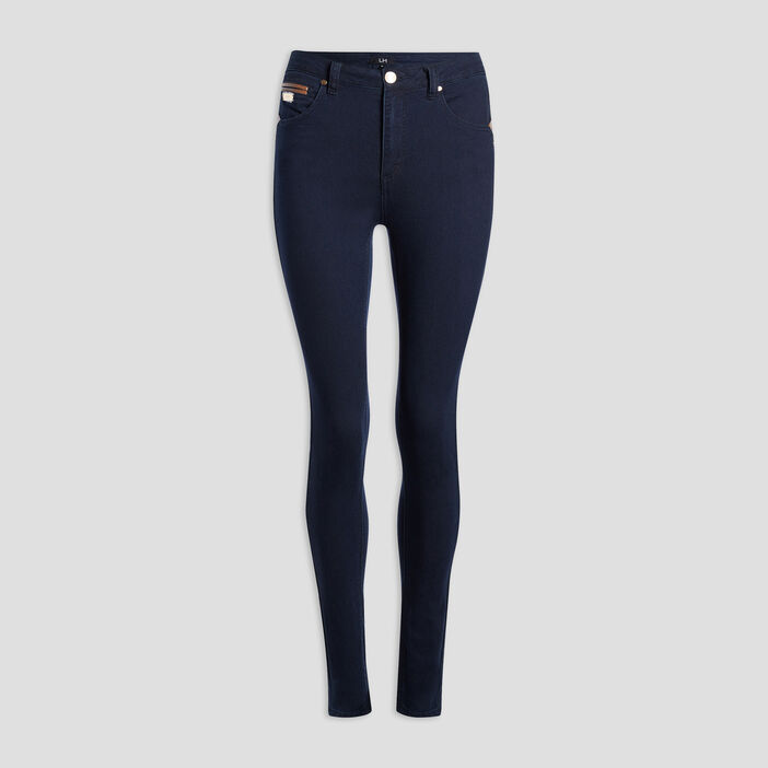 Jeans slim femme denim brut