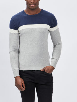 Pull Smith and Jones noir homme