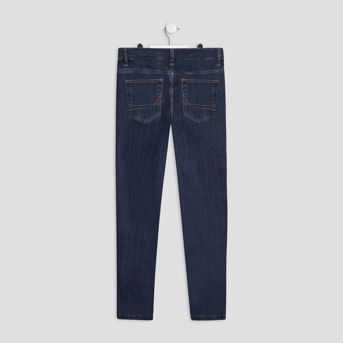 Jeans slim stretch garçon denim brut