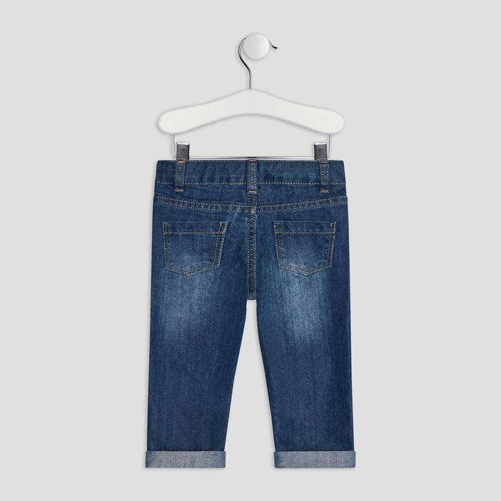 Jeans regular bébé garçon denim stone