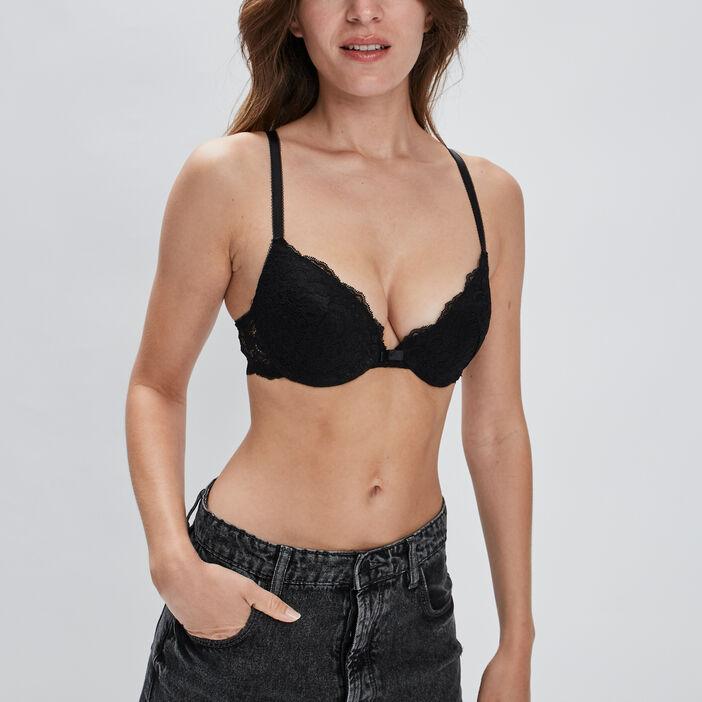 Soutien-gorge ampliforme femme noir