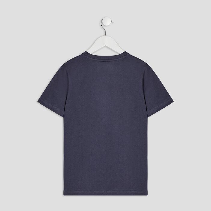 T-shirt manches courtes Boruto garçon gris