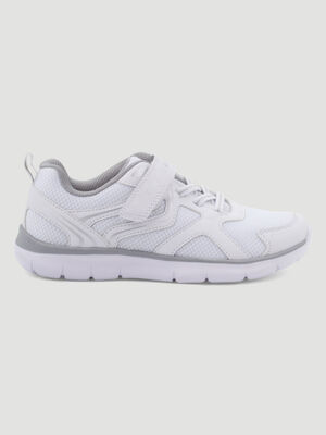 Baskets running Creeks blanc fille