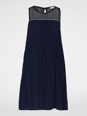 Robe bleu marine femme