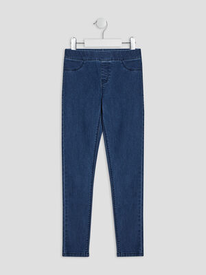 Jegging taille elastiquee denim double stone fille