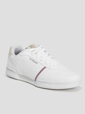 Tennis Kappa blanc homme