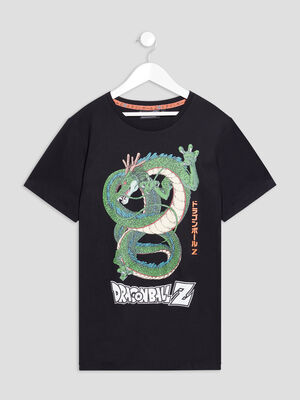 T shirt Dragon Ball Z noir garcon