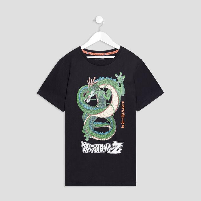 T-shirt Dragon Ball Z garçon noir