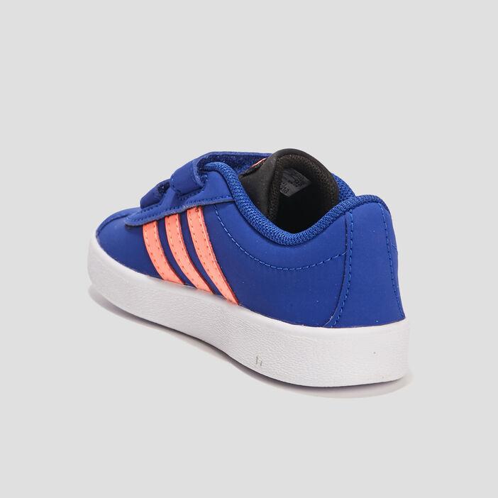 Tennis Adidas VL COURT garçon bleu