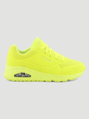 Runnings Skechers UNO NIGNT SHADES jaune femme