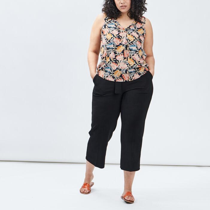 Blouse grande taille femme grande taille multicolore