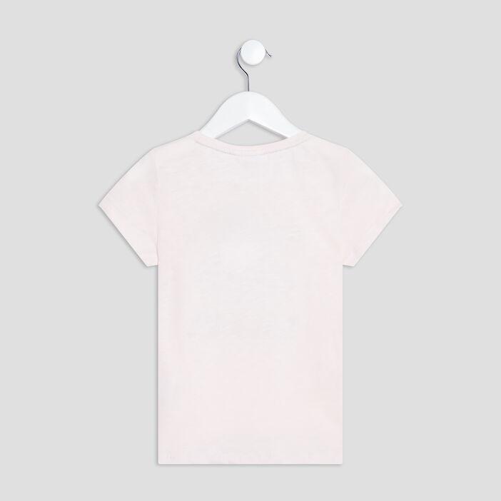 T-shirt manches courtes Batman fille rose