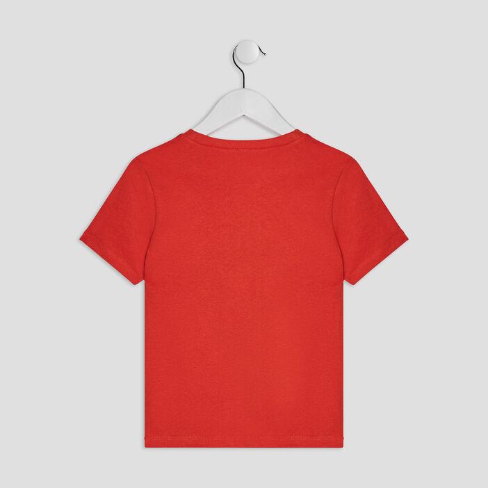 T-shirt manches courtes garçon orange