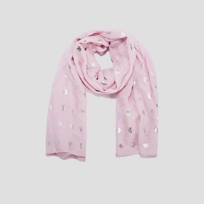 Foulard fille rose