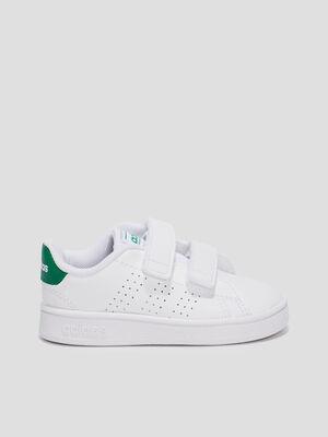 Baskets plates Adidas blanc bebe