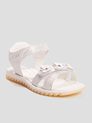 Sandales Liberto couleur argent fille