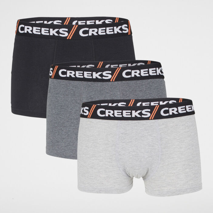 Lot 3 boxers Creeks homme noir