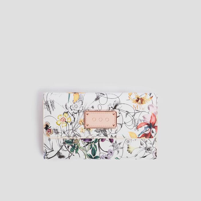 Portefeuille femme blanc