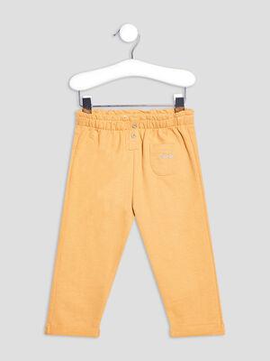 Pantalon droit Creeks jaune moutarde bebef