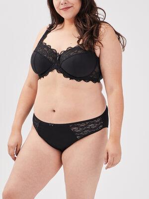 Culotte grande taille noir femmegt