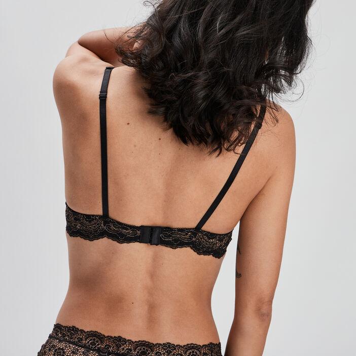 Soutien-gorge ampliforme femme couleur bronze