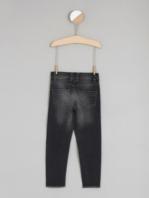 Jean green wash halleavenir denim snow noir fille