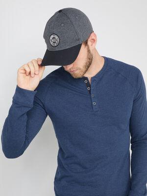 Casquette bonnet chapeau gris fonce mixte