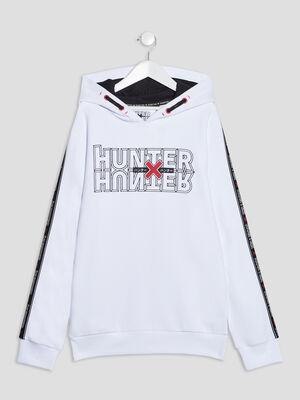 Sweat Hunter X Hunter blanc garcon