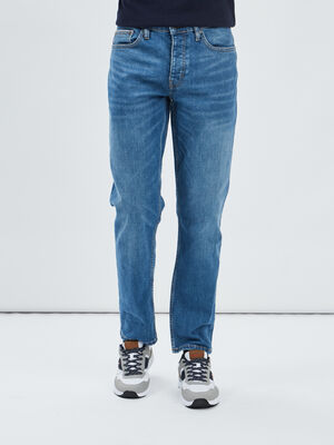 Jeans relax fit Creeks denim stone homme