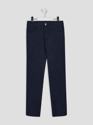 Pantalon regular bleu marine garcon