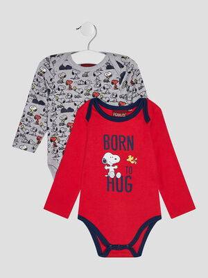 Body manches longues Snoopy multicolore bebeg