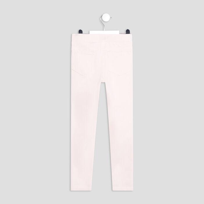 Pantalon tregging fille rose