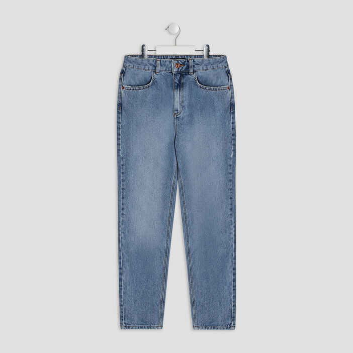 Jeans mom Liberto fille denim double stone
