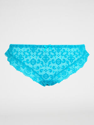 culotte ROSITA bleu turquoise femme