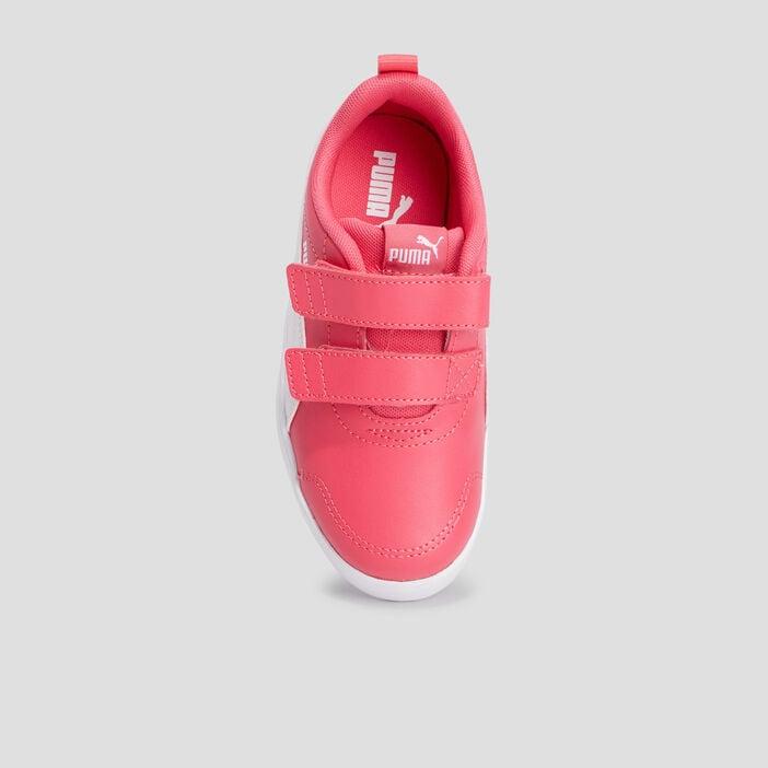 Tennis Puma fille rose
