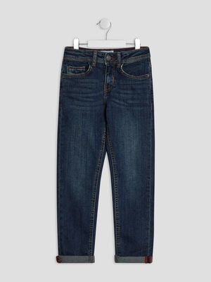 Jeans regular Creeks denim brut garcon