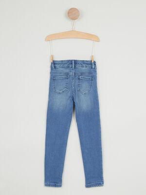Jean skinny coton majoritaire denim double stone fille
