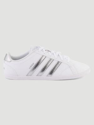 Tennis bicolores Adidas CONEO blanc femme