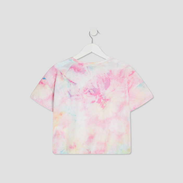 T-shirt Liberto fille rose