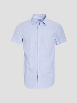 Chemise manches courtes Creeks blanc homme