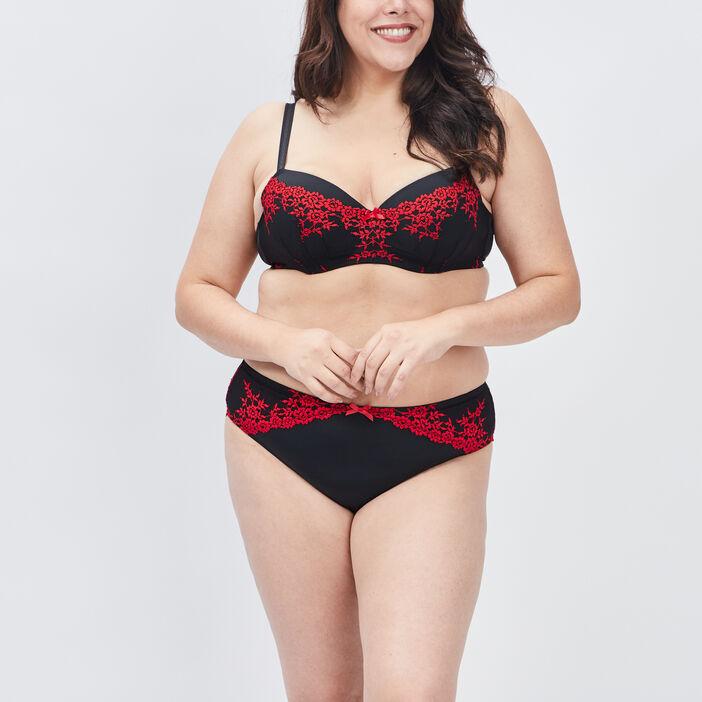 Soutien-gorge grande taille femme grande taille rouge