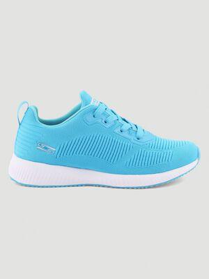Runnings Skechers BOBS SQUAD bleu femme