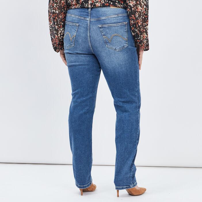 Jeans regular grande taille femme grande taille denim stone